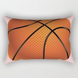 Basketball Ball Rectangular Pillow