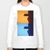 denver Long Sleeve T-shirts featuring Denver, Colorado by Augustina Trejo