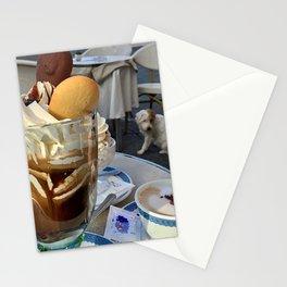 Capri Café Au Lait Stationery Cards
