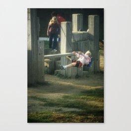 Street Scenes - Kids Swing Canvas Print