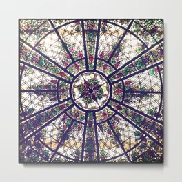 Glass Ceiling Metal Print