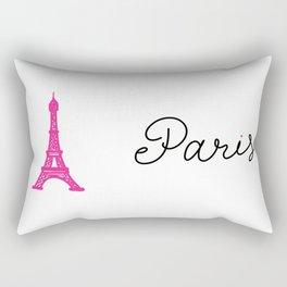 Eiffel Tower - Paris in Love Rectangular Pillow