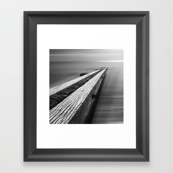 the break water 06 Framed Art Print