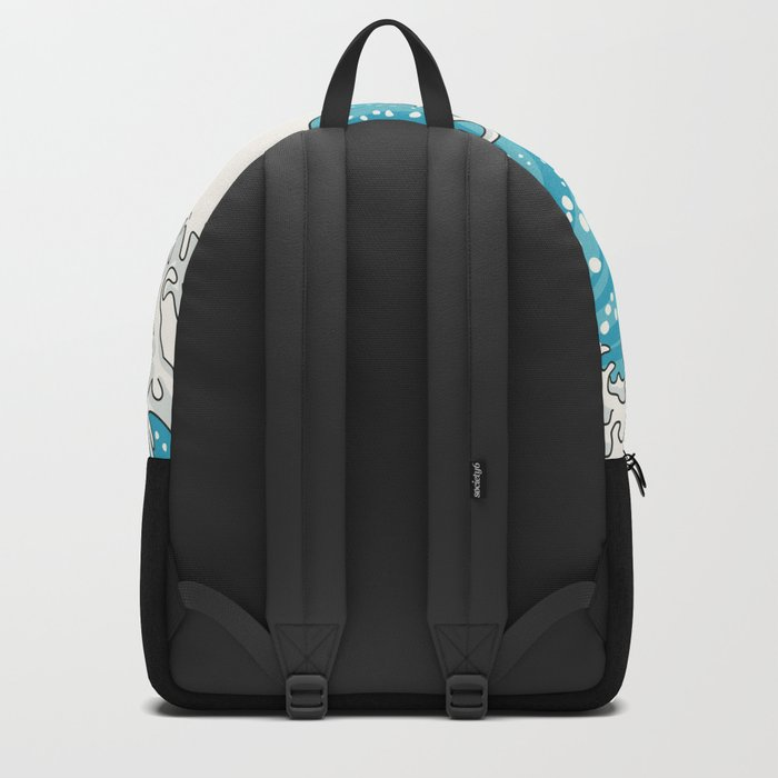 The Great Wave (night version) Backpack