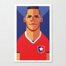 AS7   La Roja Canvas Print