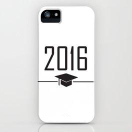 Grad 2016 iPhone Case