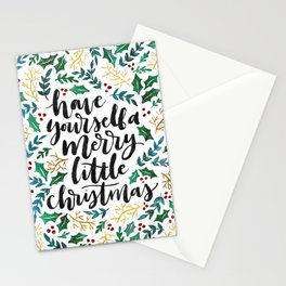 Merry Little Christmas Stationery Cards