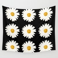 daisy Wall Tapestries featuring Daisy by nessieness