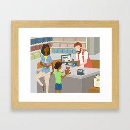 Bandaids Framed Art Print