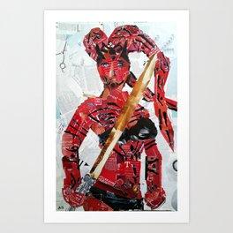 DARTH TALON Art Print