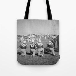 Old Lisle football stance Tote Bag