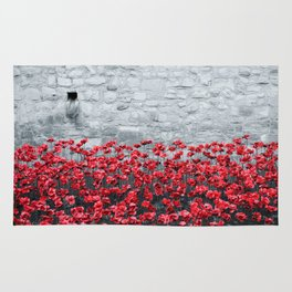 Tower Poppies 02B Rug