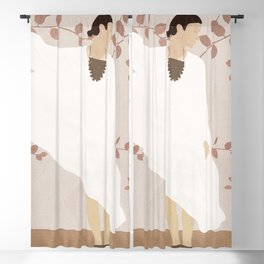 Soft Summer Breeze II Blackout Curtain