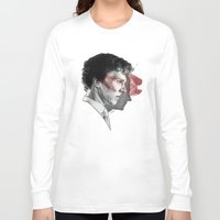johnlock Long Sleeve T-shirts featuring Johnlock by Cécile Pellerin