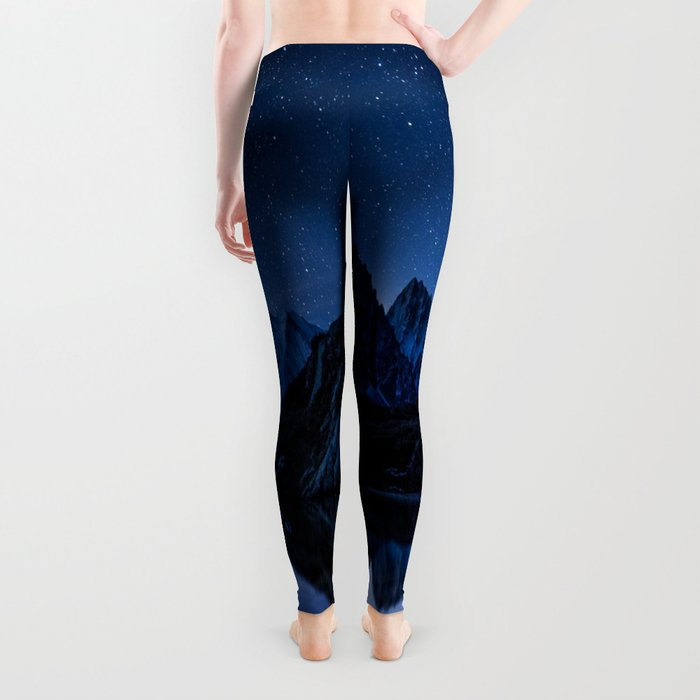 Night mountains Leggings