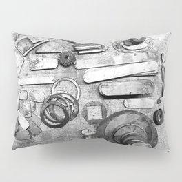 Junk Yard Finds Pillow Sham