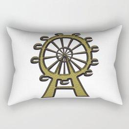 Ferris Whell Rectangular Pillow