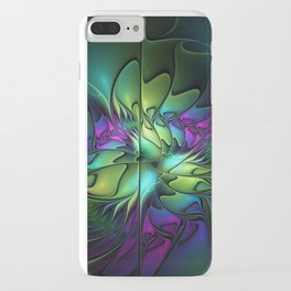 Colorful And Abstract Fractal Fantasy iPhone Case