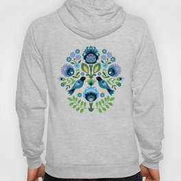 Polish Folk Birds Hoody