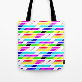 COLOURED STRIPES Tote Bag