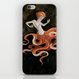 Octopus Mermaid iPhone Skin