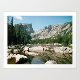 Colorado Film Art Print