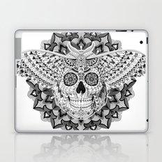 Skull Moth Laptop & iPad Skin