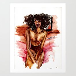 The Less I Know The Better Art Print