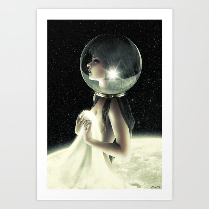 A Million Miles Away Art Print
