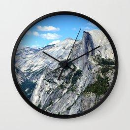 Half Dome View Wall Clock
