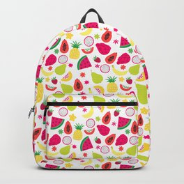 Tutti Frutti Summer Fruit Pattern Backpack