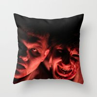 zombies Throw Pillows featuring Zombies! by Justin White