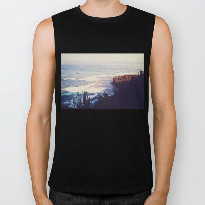 Morning Beach Biker Tank