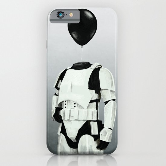 The Stormtrooper - #2 in the Balloon Head Series iPhone & iPod Case