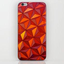 Geometric Epcot iPhone Skin