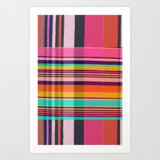 Plaid Art Print