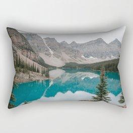 Moraine Lake, Banff National Park Rectangular Pillow