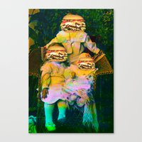 mac Canvas Prints featuring Mac Attack by Tyler Spangler
