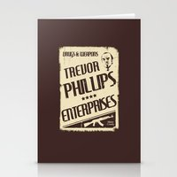 gta Stationery Cards featuring GTA Trevor Phillips Enterprises by Spyck