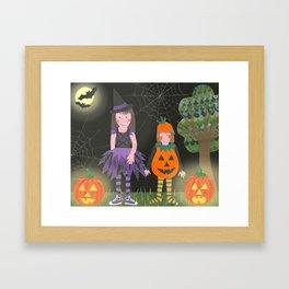 Halloween. Framed Art Print
