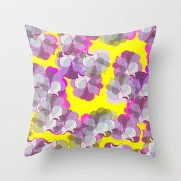 Gardenia vibes Throw Pillow