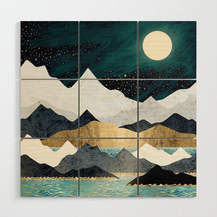 Ocean Stars Wood Wall Art