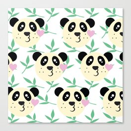 WWF Panda Donations Canvas Print
