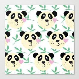 WWF Panda Donations Canvas Print