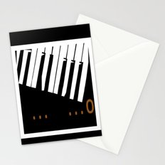 BROKEN  P . . . AN . . . O Stationery Cards