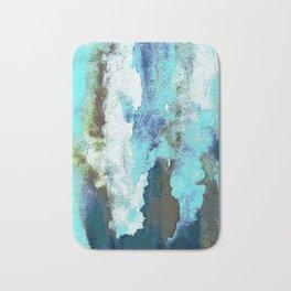 Turquoise And Earth Nebula Bath Mat