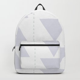 Southwest Triangles No. 3 in White Quartz Backpack