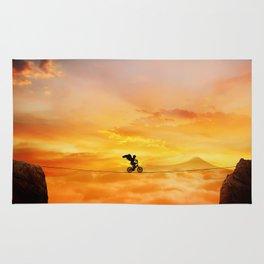 sunset balance Rug