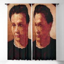 Jose Ferraz de Almeida Júnior - Ana Cândida do Amaral Souza (The Artist's Mother) Blackout Curtain