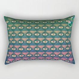 H. P. LOVECRAFT'S EYES Rectangular Pillow